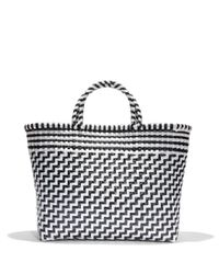 Truss - Large Tote In Black/white - Lyst