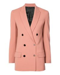 Alexander Wang - Pink Double Breasted Blazer - Lyst
