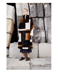 Gabriela Hearst - Multicolor 'mira' Shearling Reversible Coat - Lyst