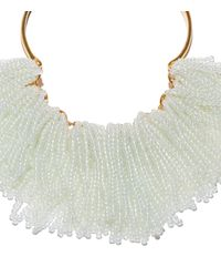 Lele Sadoughi - Multicolor Moonstone 'weeping Willow' Necklace - Lyst