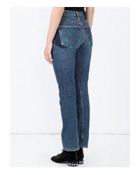 Vetements - Blue High Waisted Denim Jeans - Lyst