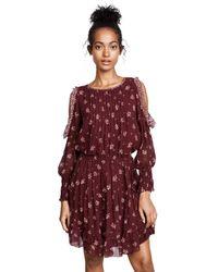 Joie - Red Arleth Dress - Lyst