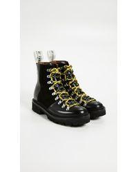 GRENSON - Black X House Of Holland Vivid Combat Boots - Lyst