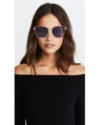 Karen Walker - Multicolor Rebellion Sunglasses - Lyst