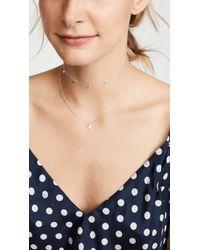 Gorjana Metallic Chloe Necklace With Charm