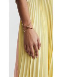 Elizabeth and James - Metallic Windrose Cuff Bracelet - Lyst