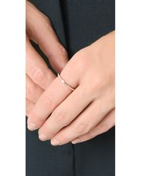 EF Collection - Metallic 14k Gold Eternity Ring - Lyst
