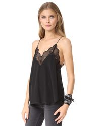 Zadig & Voltaire - Black Christy Lace Camisole - Lyst