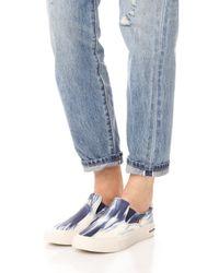 Seavees - Blue X Derek Lam 10 Crosby Hawthorne Slip On Sneakers - Lyst