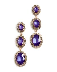 Elizabeth Cole - Multicolor Lawrence Earrings - Lyst