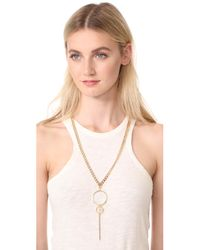 Vanessa Mooney - Metallic The Lucky Strike Necklace - Lyst