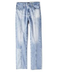 AG Jeans - Blue The Phoebe Restored Jeans - Lyst