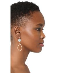 Shashi - Blue Nova Earrings - Lyst