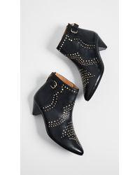 Joie - Black Bickson Stud Ankle Boot - Lyst