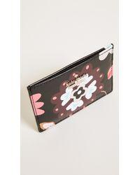 Kate Spade - Black Cameron Street Casa Flora Card Holder - Lyst