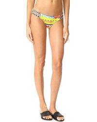 OndadeMar | Multicolor Azteca Strappy Low Rise Bottoms | Lyst