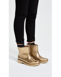 Melissa | Metallic Drop Rain Boots | Lyst