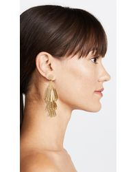 Deepa Gurnani - Metallic Deepa By Rain Earrings - Lyst