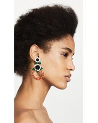 Elizabeth Cole - Multicolor Odessa Earrings - Lyst