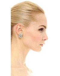 Ben-Amun - Multicolor Multi Crystal Earrings - Lyst