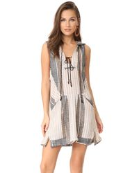 Free People - Multicolor All Right Now Mini Dress - Lyst