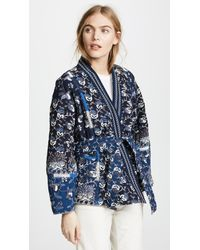 Ulla Johnson - Blue Sachi Jacket - Lyst