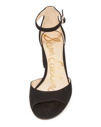 Sam Edelman - Black Susie City Sandals - Lyst