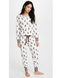 Pj Salvage - White Cool For The Winter Pj Pants - Lyst