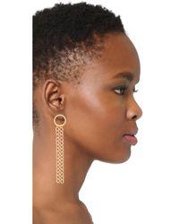 Vanessa Mooney | Metallic The Jules Earrings | Lyst