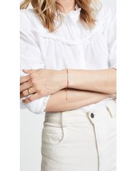 Shashi - Metallic Sam Chain Slide Bracelet - Lyst