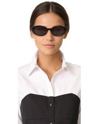 Elizabeth and James - Black Mckinley Sunglasses - Lyst