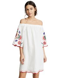Parker - White Cathy Dress - Lyst