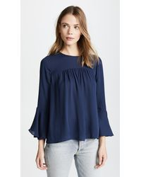 Joie - Blue Awilda B Blouse - Lyst
