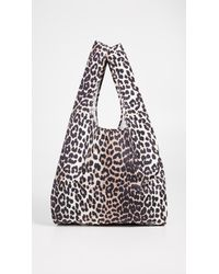 ebed11f18646 Ganni Tech Fabric Accessories Tote Bag - Lyst