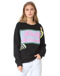 Michaela Buerger - Black Totally Awesome Sweatshirt - Lyst