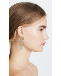 Vita Fede - Metallic Giovanna Crystal Earrings - Lyst