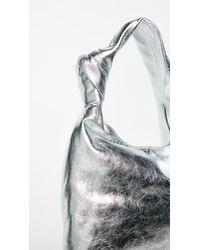 Loeffler Randall - Metallic Knot Tote - Lyst