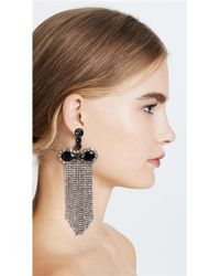 Marc Jacobs - Multicolor Crystal Waterfall Earrings - Lyst