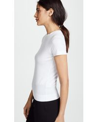 Theory - White Tiny Tee - Lyst