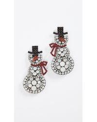 Elizabeth Cole | Multicolor Frosty Earrings | Lyst