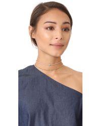 Gorjana - Multicolor Fairfax Gemstone Choker Necklace - Lyst