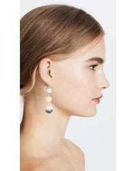 Lulu Frost - Multicolor Paloma Triple Drop Earrings - Lyst