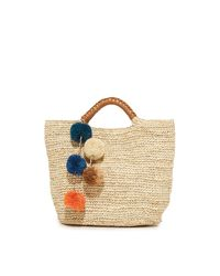 Kayu | Natural Belle Tote | Lyst