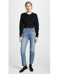 Rag & Bone - Black Sharon Top - Lyst
