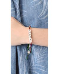 Venessa Arizaga | Multicolor #squad Bracelet | Lyst