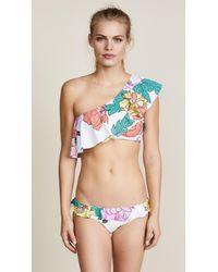 6 Shore Road By Pooja - Multicolor Southport Ruffle Bikini Bottom - Lyst