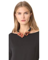Lizzie Fortunato | Multicolor Desert Rose Necklace | Lyst