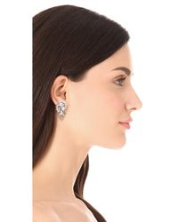 Kenneth Jay Lane - Metallic Waterfall Earrings - Lyst
