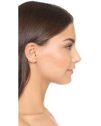 Elizabeth and James - Metallic Roxy Earrings - Lyst