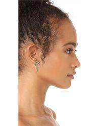 Alexis Bittar - Metallic Snake Earrings - Lyst